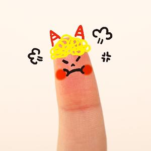 怒り顔01